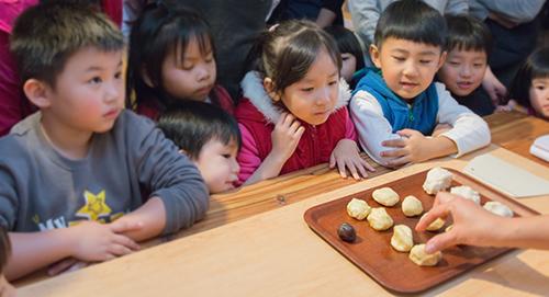 餅藝學苑 DIY 親子課程 做餅 平西餅 親子體驗 李亭香 體驗課程 迪化街 台北體驗 手作