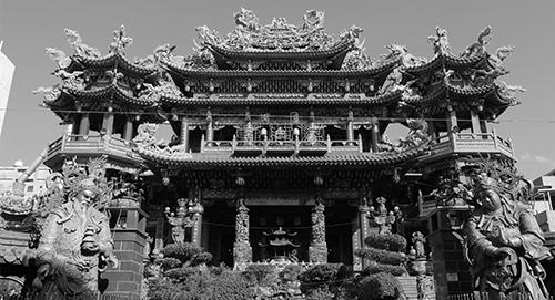 湧蓮寺 百年 寺廟 古老 香火鼎盛