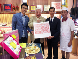 合作企業-南僑化工陳飛龍董事長蒞臨李亭香!