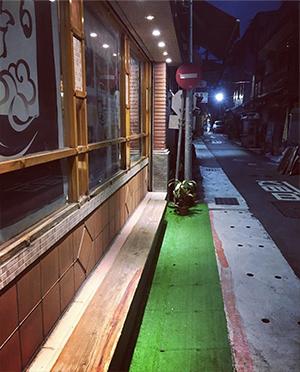 迪化街寧靜的夜晚
